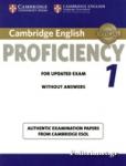 CAMBRIDGE ENGLISH PROFICIENCY 1
