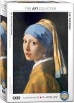GIRL WITH THE PEARL EARRING BY JOHANNES VERMEER