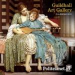 GUILDHALL ART GALLERY 2021 WALL CALENDAR