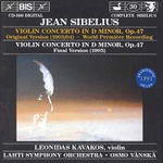 (CD) VIOLIN CONCERTO IN D MINOR, Op. 47