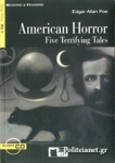 AMERICAN HORROR - FIVE TERRIFYING TALES (+CD)