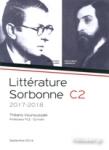 LITTERATURE SORBONNE C2 2017-2018