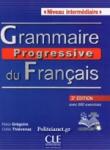 GRAMMAIRE PROGRESSIVE DU FRANCAIS (+CD) - NIVEAU INTERMEDIAIRE