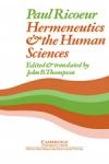 (P/B) HERMENEUTICS AND THE HUMAN SCIENCES