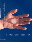 PERFORMANCE RESEARCH, VOLUME 16, ISSUE 4, DECEMBER 2011