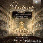 (CD) OVERTURES FOR ORGAN FOUR HANDS