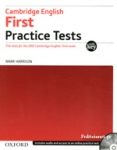 CAMBRIDGE ENGLISH FIRST PRACTICE TESTS (+2CD) - WITH KEY