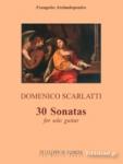 SCARLATTI: 30 SONATAS FOR SOLO GUITAR