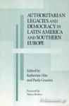 (P/B) AUTHORITARIAN LEGACIES AND DEMOCRACY