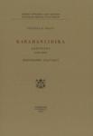 KARAMANLIDIKA - ADDITIONS (1584-1900)
