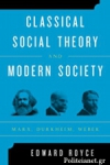 (P/B) CLASSICAL SOCIAL THEORY AND MODERN SOCIETY