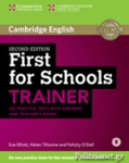 CAMBRIDGE ENGLISH FIRST FOR SCHOOLS TRAINER