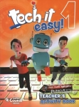(PACK) TECH IT EASY! 1 (+MP3-CD+COURSEBOOK+REVISION+ACTIVITY+WRITER'S PORTFOLIO+GRAMMAR SONGS)