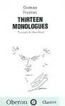 (H/B) THIRTEEN MONOLOGUES