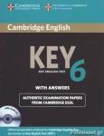 CAMBRIGDE KEY ENGLISH TEST 6 (+AUDIO CD)
