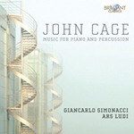(2CD) MUSIC FOR PIANO AND PERCUSSION
