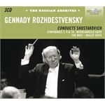 (3-CD SET) GENNADY ROZHDESTVENSKY CONDUCTS SHOSTAKOVICH