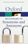 (P/B) THE OXFORD DICTIONARY OF SYNONYMS AND ANTONYMS