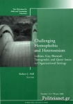 (P/B) CHALLENGING HOMOPHOBIA AND HETEROSEXISM: LESBIAN GAY BISEX