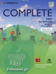 COMPLETE FIRST FOR SCHOOLS B2 (+CD DONWLOADABLE)