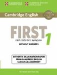 CAMBRIDGE ENGLISH FIRST CERTIFICATE IN ENGLISH 1