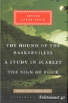 (H/B) THE HOUND OF THE BASKERVILLES, A STUDY IN SCARLET, THE SIGN OF FOUR