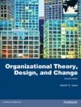(P/B) ORGANIZATIONAL THEORY, DESIGN AND CHANGE