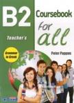 B2 FOR ALL COURSEBOOK TEACHER'S GRAMMAR IN GREEK