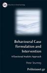 (P/B) BEHAVIORAL CASE FORMULATION AND INTERVENTION