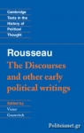 (P/B) THE DISCOURSES AND OTHER EARLY POLITICAL WRITINGS