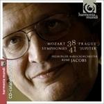 "(CD) SYMPHONIES NO.38 ""PRAGUE"" AND NO.41 ""JUPITER"""
