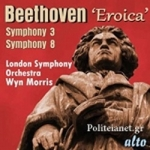 (CD) BEETHOVEN SYMPHONIES 3 'EROICA' AND No.8, Op.93
