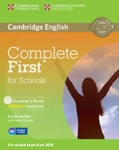 COMPLETE FIRST FOR SCHOOLS B2 ENGLISH PROFILE FCE (+CD-ROM)