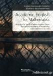 ACADEMIC ENGLISH FOR MATHEMATICS, UPPER-INTERMEDIATE / B2 LEVEL