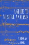 (P/B) A GUIDE TO MUSICAL ANALYSIS