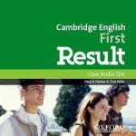 CD - CAMBRIDGE ENGLISH FIRST RESULT