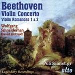(CD) VIOLIN CONCERTO, VIOLIN ROMANCES 1,2