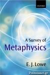 (P/B) A SURVEY OF METAPHYSICS