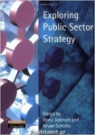 (P/B) EXPLORING PUBLIC SECTOR STRATEGY