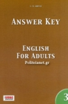 ANSWER KEY TO ENGLISH FOR ADULTS 3