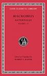 (H/B) MACROBIUS (VOLUME I)