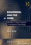 (P/B) BEHAVIOURAL ANALYSIS OF CRIME