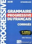 GRAMMAIRE PROGRESSIVE DU FRANCAIS INTERMEDIAIRE