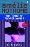 (P/B) THE BOOK OF PROPER NAMES