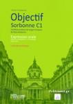 OBJECTIF SORBONNE C1, LIVRE DU PROFESSEUR