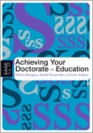 (P/B) ACHIEVING YOUR DOCTORATE IN EDUCATION