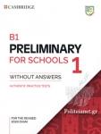 B1 PRELIMINARY FOR SCHOOLS 1
