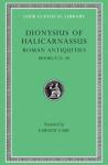 (H/B) DIONYSIUS OF HALICARNASSUS (VOLUME VI)