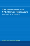 (P/B) THE RENAISSANCE AND 17th CENTURY RATIONALISM