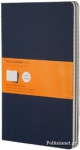 RULED CAHIER L BLUE